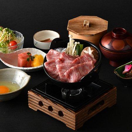 松阪牛すき鍋膳