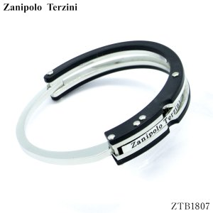 Zanipolo Terzini/ザニポロ タルツィーニ ステンレス 手錠型ブレスレット 手錠 ブレス メンズ 個性 ZTB1807