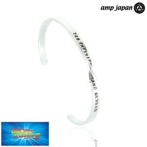 即納 amp japan/アンプジャパン フラット メッセージ ツイスト バングル バズ ライトイヤー 名言 NOAJ-350