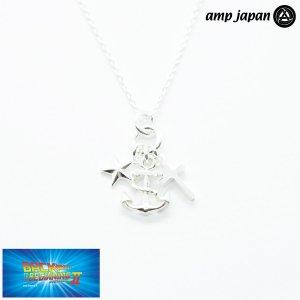 amp japan/アンプジャパン スター アンカー クロス ネックレス シルバー 未来 信念 希望 NOHK-104