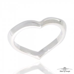 HEART OF CONCEPT/ハート・オブ・コンセプト エターナルラヴリング レディース シルバー925 ハート 個性的 シルバー ペアもOK  HCR-284L