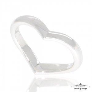 HEART OF CONCEPT/ハート・オブ・コンセプト エターナルラヴリング メンズ シルバー925 ハート 個性的 シルバー ペアもOK  HCR-284M