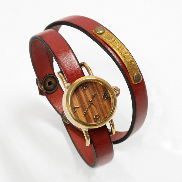 vie/ヴィー 「受注生産品」 ハンメイドウォッチ/手作り時計/クォーツ式 vie-WB-051-W5-WL-003