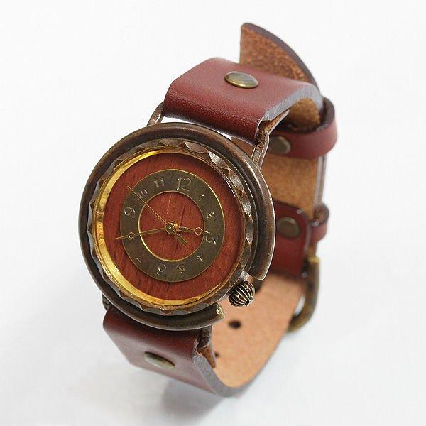 vie ヴィー 「受注生産品」 ハンメイド ウォッチ 手作り時計 クォーツ式 メンズ レディース プレゼント VIE-WB-00…