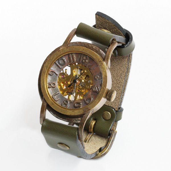vie ヴィー 「受注生産品」 ハンメイド ウォッチ 手作り時計 手巻き 機械式時計 メンズ レディース プレゼント VIE-WB-0…