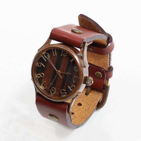vie ヴィー 「受注生産品」 ハンメイド ウォッチ 手作り時計 クォーツ式 メンズ レディース プレゼント VIE-WB-04…