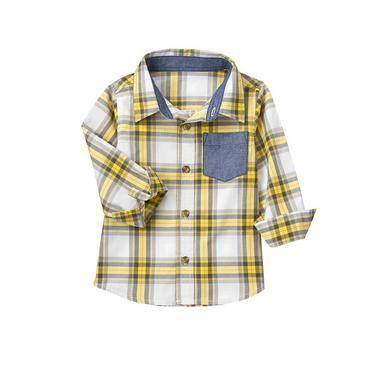 Crazy 8/クレイジーエイト本物正規品!トドラーボーイ【シャツ】-Plaid Shirt-