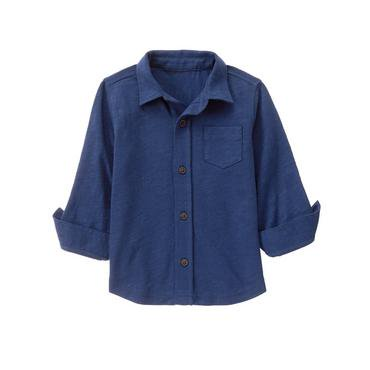 Crazy 8/クレイジーエイト本物正規品!トドラーボーイ【シャツ】-Knit Button-Up Shirt-