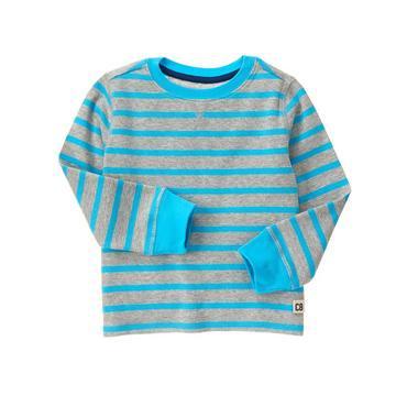 Crazy 8/クレイジーエイト本物正規品!トドラーボーイ【ロングTシャツ】-Stripe Thermal-