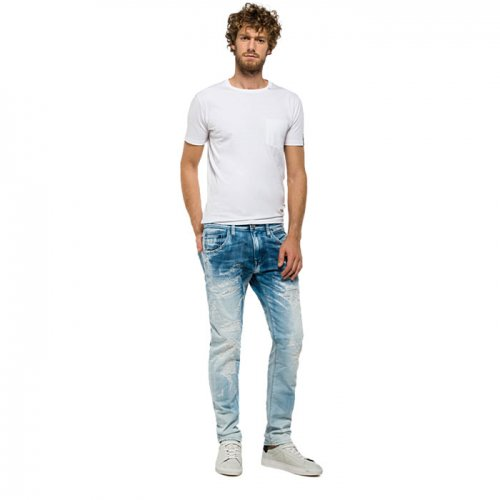 REPLAY/リプレイ本物正規品!【ジーンズ】-NUMASIG TAPERED-FIT JEANS-