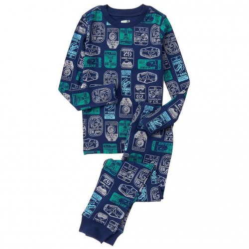 Crazy 8/クレイジーエイト本物正規品!トドラーボーイ【パジャマセット】-Ticket Stub 2-Piece Pajama Set-