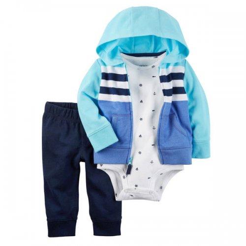 Carter's/カーターズ本物正規品!トドラーボーイ【セット】-3-Piece Little Jacket Set-