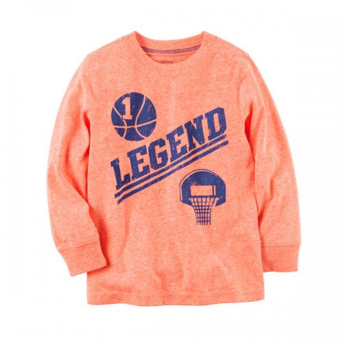 Carter's/カーターズ【ロングTシャツ】-Long-Sleeve Neon Legend Graphic Tee-