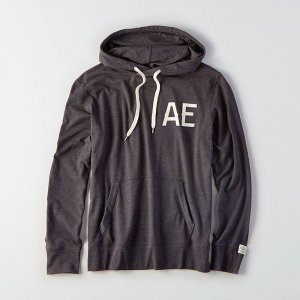 American Eagle Outfitters/アメリカンイーグル本物正規品!メンズ/Tシャツ-AEO GRAPHIC HOODIE T-SHIRT-