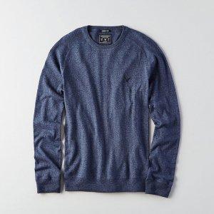 American Eagle Outfitters/アメリカンイーグル本物正規品!メンズ/ニット-AEO CREW NECK SWEATER-