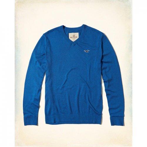 ホリスター本物正規品!メンズ【セーター】-V-Neck Icon Sweater-
