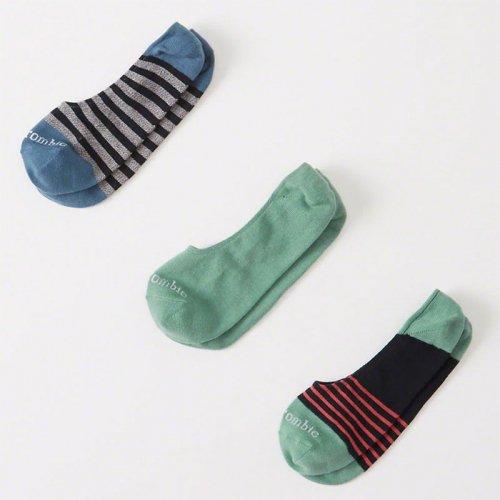 アバクロ本物正規品! メンズ【ソックス】-3-Pack No-Show Socks-