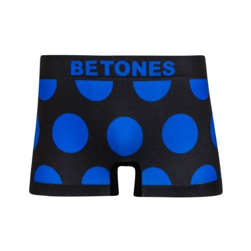 BETONES/ビトーンズ《メンズ》Underwear本物正規品!【ボクサーパンツ】-5DOTS BLUE-