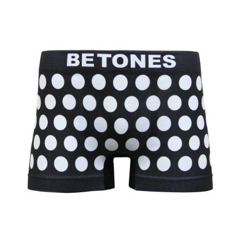 BETONES/ビトーンズ《メンズ》Underwear本物正規品!【ボクサーパンツ】-BUBBLE5 WHITE-