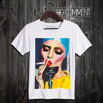 NO COMMENT PARIS/ノーコメントパリ本物正規品!メンズ【Tシャツ】-glamour smoking-