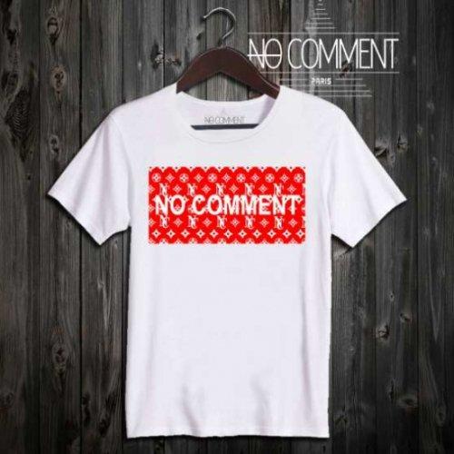 NO COMMENT PARIS/ノーコメントパリ本物正規品!メンズ【Tシャツ】-mono logo-