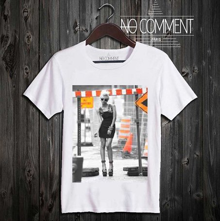 NO COMMENT PARIS/ノーコメントパリ本物正規品!メンズ【Tシャツ】-girls street-