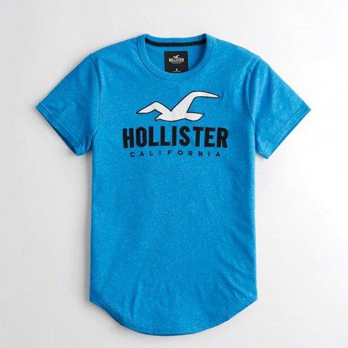 ホリスター本物正規品!メンズ【Tシャツ】-Logo Graphic Tee-