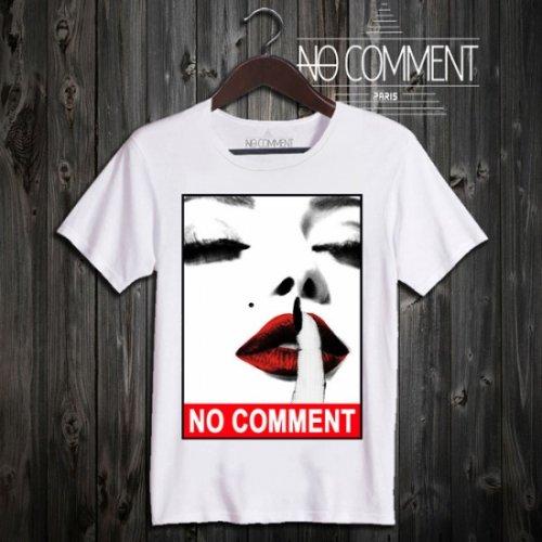 NO COMMENT PARIS/ノーコメントパリ本物正規品!メンズ【Tシャツ】-mole-
