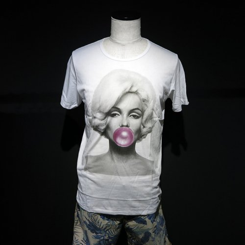 NO COMMENT PARIS/ノーコメントパリ本物正規品!メンズ【Tシャツ】-Marylin bubble-