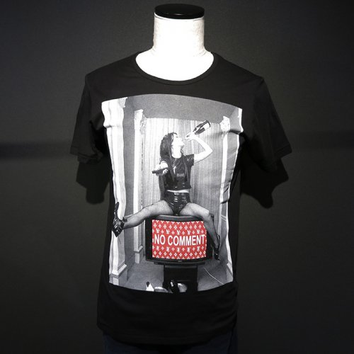 NO COMMENT PARIS/ノーコメントパリ本物正規品!メンズ【Tシャツ】-tv logo-