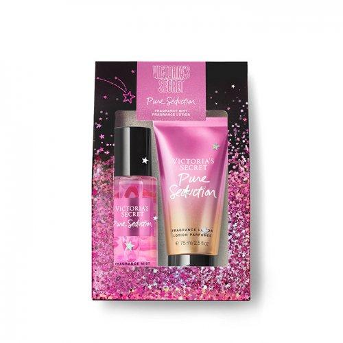 ヴィクトリアシークレット【Mini Mist & Lotion Gift Set】-Pure Seduction-