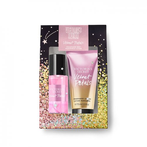 ヴィクトリアシークレット【Mini Mist & Lotion Gift Set】-Velvet Petals-
