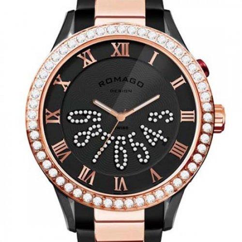 ROMAGO(ロマゴ)本物正規品!【Luxury series(ラグジュアリーシリーズ)】-RM019-0214SS-RGBK-