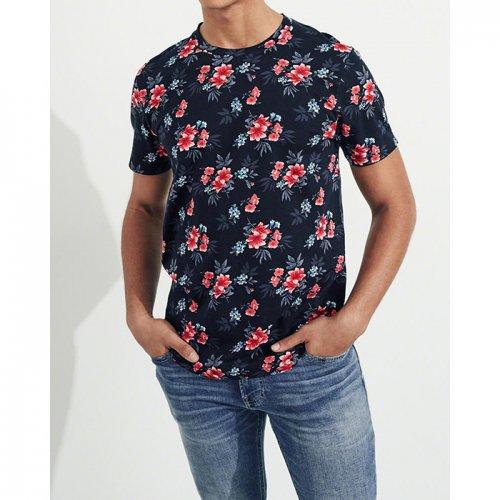 ホリスター本物正規品!メンズ【Tシャツ】-Must-Have Crewneck T-Shirt-