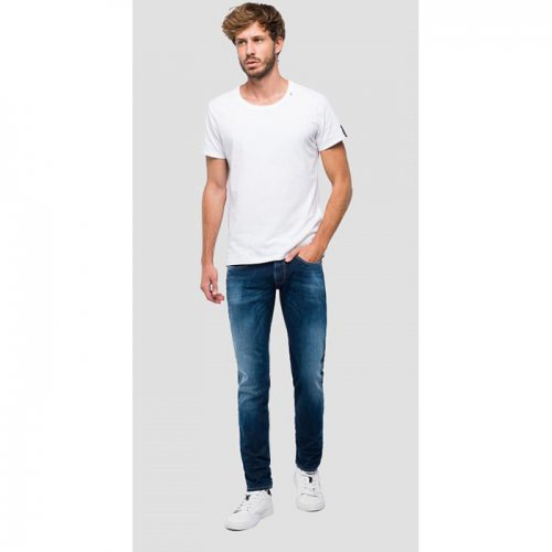 REPLAY/リプレイ【ジーンズ】-SLIM FIT ANBASS HYPERFLEX+ JEANS-