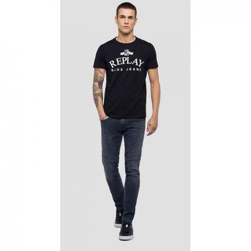 REPLAY/リプレイ!メンズ/Tシャツ-REPLAY BLUE JEANS T-SHIRT-