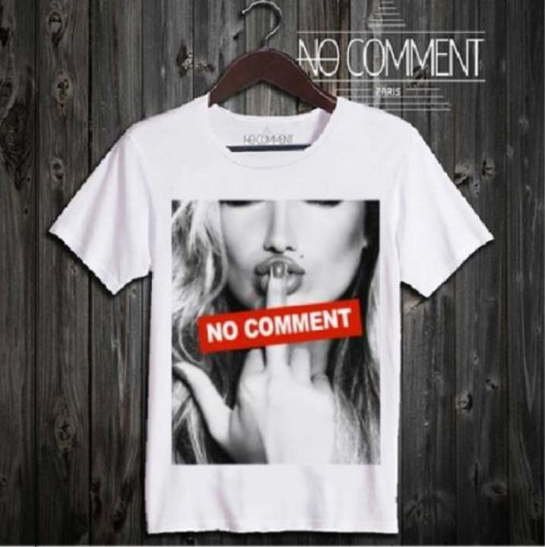 NO COMMENT PARIS/ノーコメントパリ!メンズ【Tシャツ】-f**K logo-