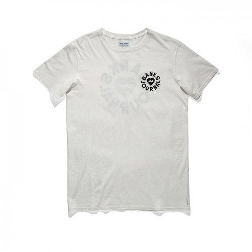 BANKS/バンクス!【Tシャツ】-Heart rings woven shirt-