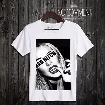 NO COMMENT PARIS/ノーコメントパリ!メンズ【Tシャツ】-bad bitch-