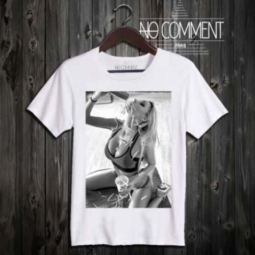 NO COMMENT PARIS/ノーコメントパリ!メンズ【Tシャツ】-tank girl-