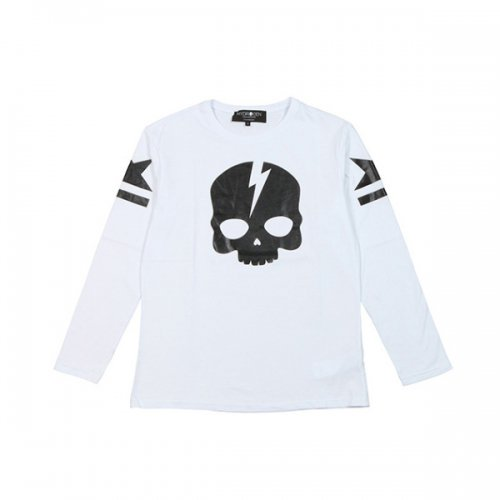 HYDROGEN/ハイドロゲン!【Tシャツ】-ICON SKULL TEES LS-