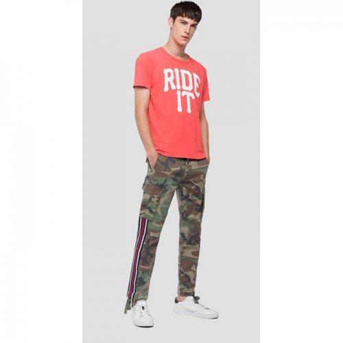 REPLAY/リプレイ!メンズ/Tシャツ-T-SHIRT RIDE IT-
