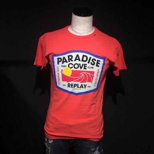 REPLAY/リプレイ!メンズ/Tシャツ-PARADISE COVE T-SHIRT-