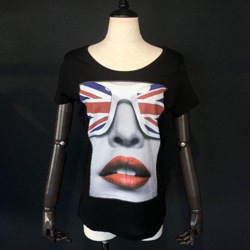 NO COMMENT PARIS/ノーコメントパリ!レディース【Tシャツ】-tendance-LONDON flag-