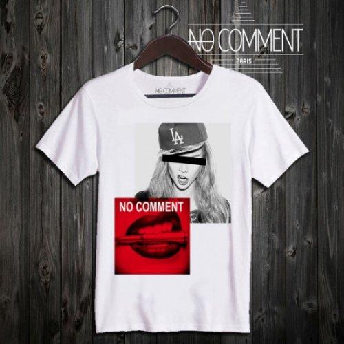 NO COMMENT PARIS/ノーコメントパリ!メンズ【Tシャツ】-dogers cap-