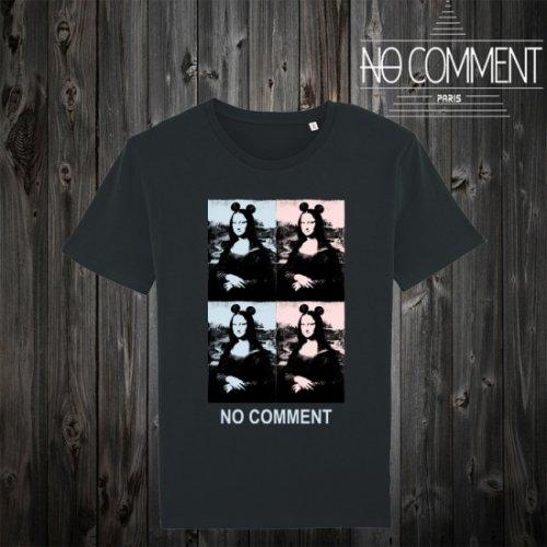 NO COMMENT PARIS/ノーコメントパリ!ユニセックス【Tシャツ】-mona u-