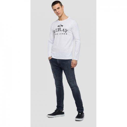 REPLAY/リプレイ!メンズ/Tシャツ-LONG-SLEEVED T-SHIRT-
