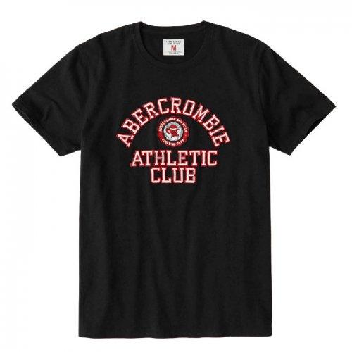 アバクロ本物正規品!メンズ【Tシャツ】-Applique Logo Tee-