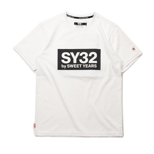 SY32/メンズ【Tシャツ】-【REGULAR】BOX LOGO TEE-