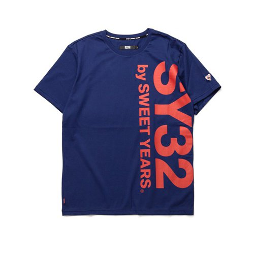 SY32/メンズ【Tシャツ】-【REGULAR】VERTICAL LOGO TEE-
